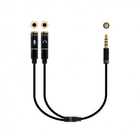 Adaptador Audio Jack 3.5/M...